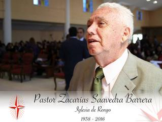 Biografia Pastor Zacarias Saavedra