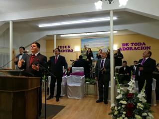 """50 años de Historia"""" visita de nuestra Obispo a 1ra. Iglesia de Concepción"""