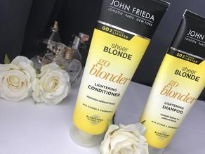 John Frieda Sheer Blonde Lightening Shampoo + Conditioner