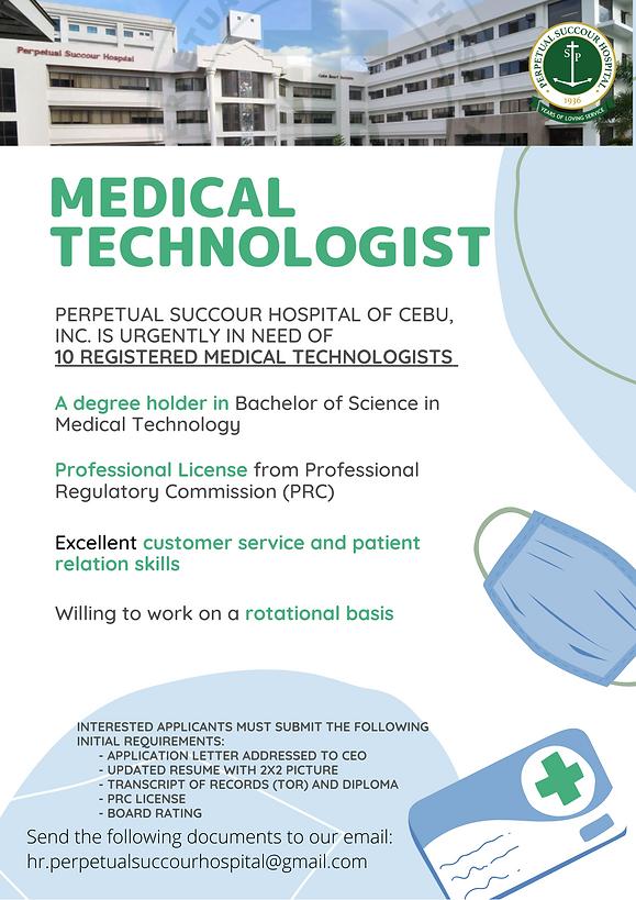 MEDICAL TECHNOLOGIST HIRING.png