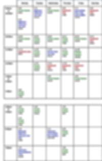 HDPilates timetable 26 september 2019.jp