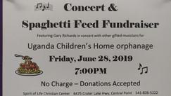 2019 Spaghetti Fund Feed