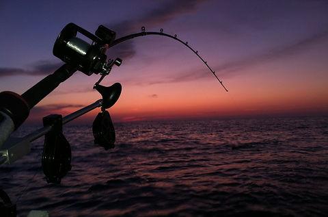 Evening fishing Mudeford