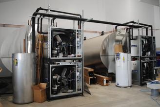 The workings of the Mueller bulk storage tanks