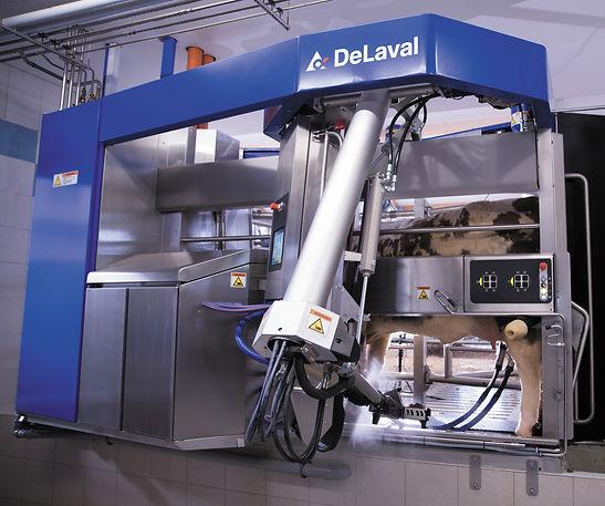 2. DeLaval VMS milking system V300 arm v