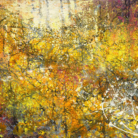 Ancient forest, Autumn Gold