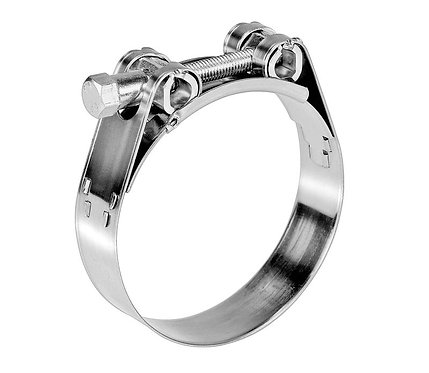 SS316 Heavy-Duty Hose Clamp (Large)