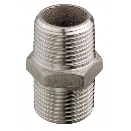 SS316 Nipple M-M