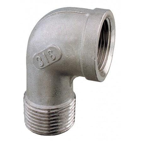SS316 90° Elbow M-F