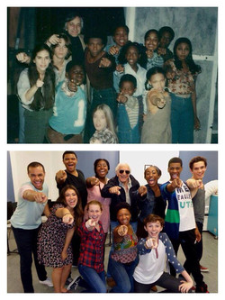 Cast Photo, The Me Nobody Knows, 1st New York Broadway Workshop