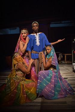 Exotic Dancer, Aida, The Muny