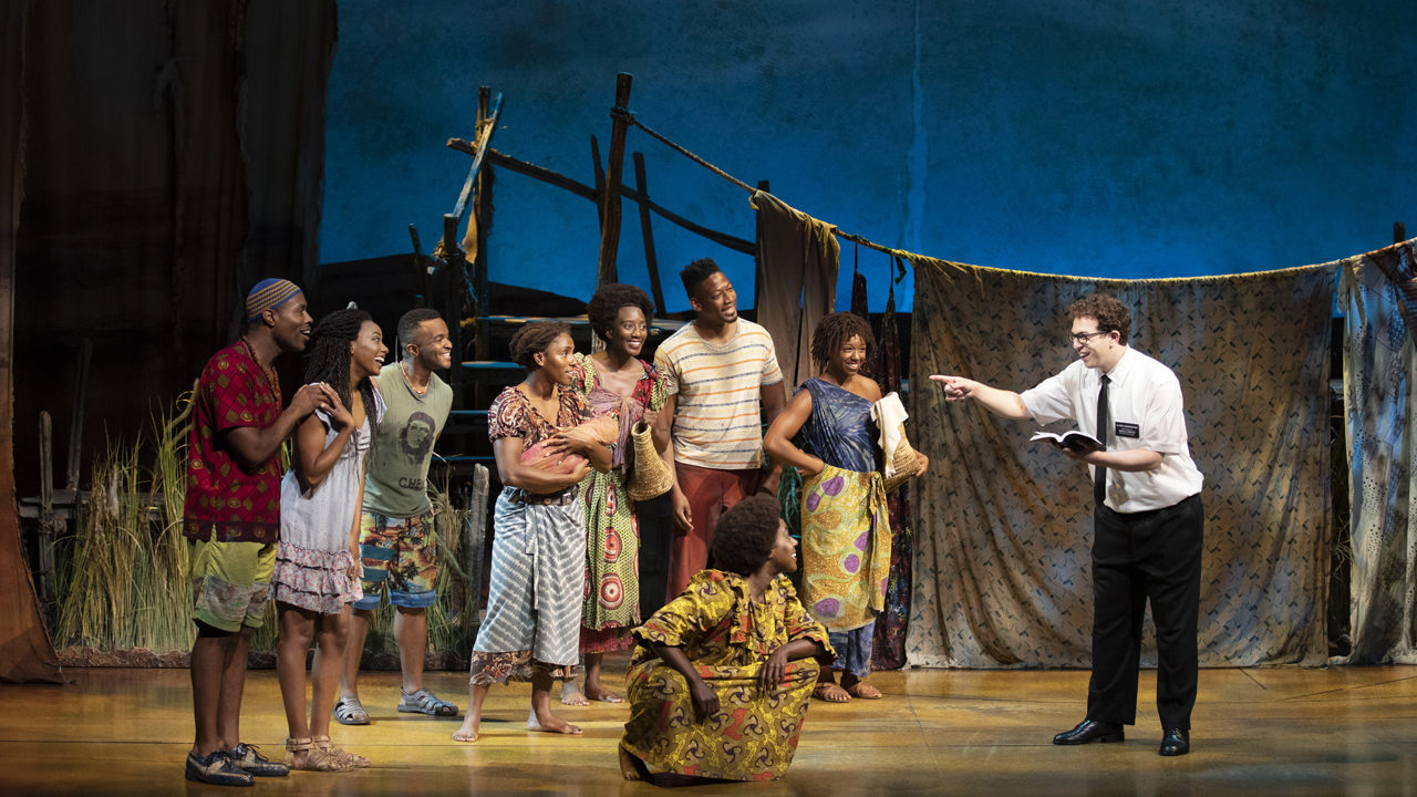 Sadaka, Book of Mormon Production Still, N. American Tour