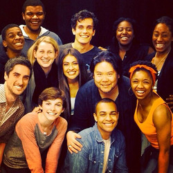 Cast Photo, The Me Nobody Knows, 1st New York Broadway Reading