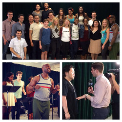 """""""The Me Nobody Knows"""" Press Day, 1st New York Broadway Workshop"""