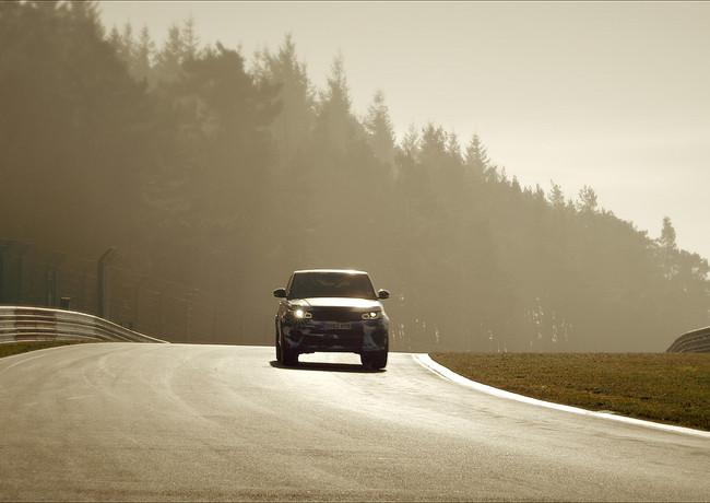 Range Rover Sport SVR - Nurburgring