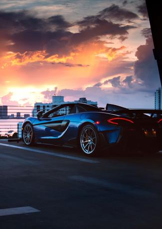 McLaren 600LT - Miami Brand Film