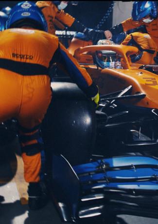 The Art of the Pitstop - McLaren Racing