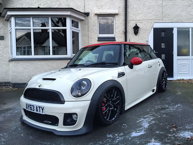Andys Bagged R56 Jcw Automotive Lifestyle Luxewerx