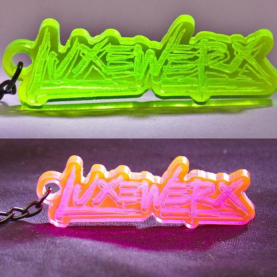 Neon Keyring