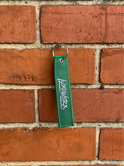 LUXEWERX Green Jet Tag