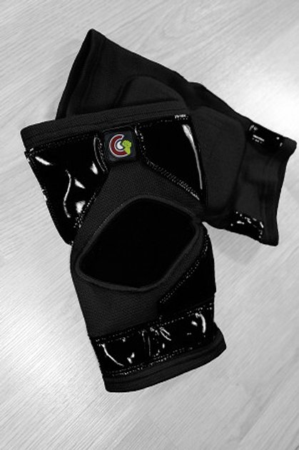 Mighty Grip Long knee pads for pole dancing, pole dance, pole fitness. Knee protectors with tack and grip.