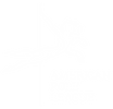 Black and white picture of the American Pole League logo which is a drawing of a pole dancer performing a move known as the Superman overlayed on a drawing of a Puma with the words American Pole League.