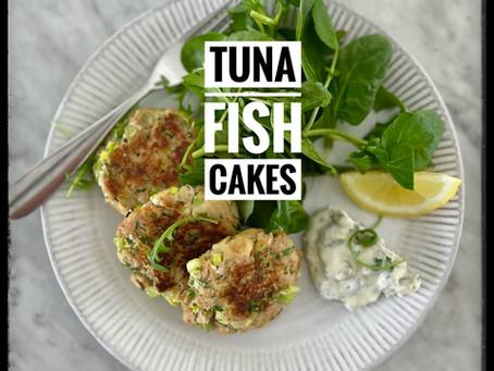 Tuna Fish Cakes with Quick Tartare Sauce