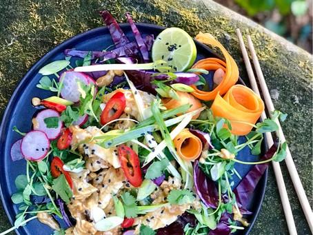 Bang Bang Turkey Salad
