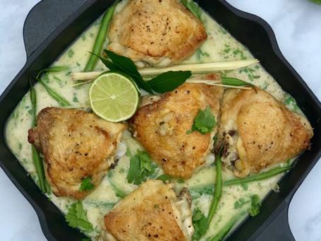 Thai Green Chicken Curry ⠀