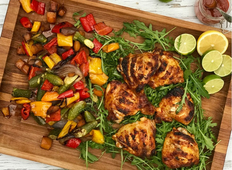 Piri Piri Chicken & Roasted Vegetables