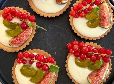 Cheats Fruit & Custard Tarts
