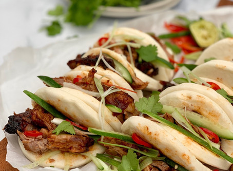 Pulled BBQ Duck Buns
