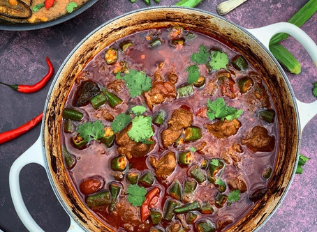 Lamb & Okra Curry  ⠀⠀⠀⠀⠀⠀⠀⠀