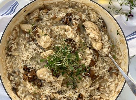 Chicken, Mushroom  & Truffle Risotto