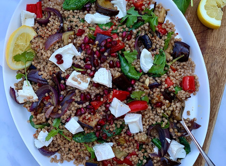 Giant Couscous & Roasted Vegetables Salad