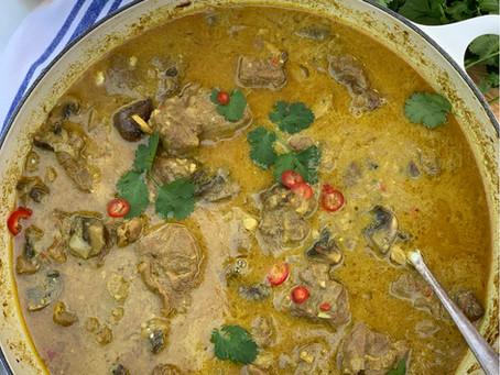 Goan Lamb, Coconut & Mushroom Curry