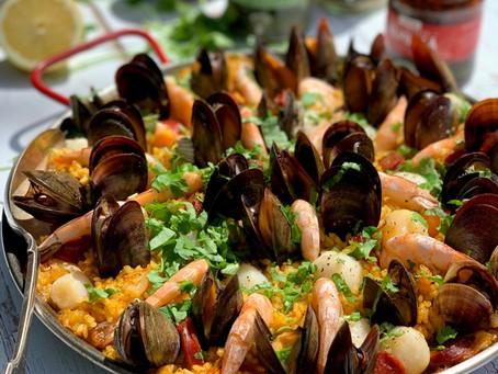 Seafood & Chorizo Paella