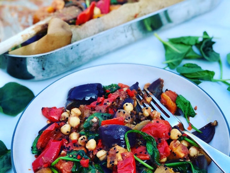 Spiced Vegetable & Chickpea Curry