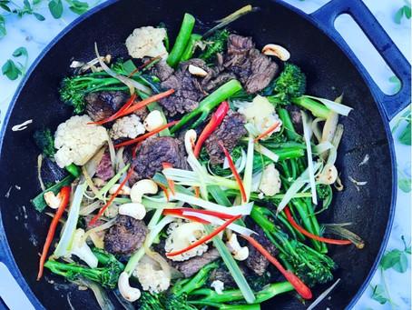 15 Minute Beef & Broccoli Stir-fry
