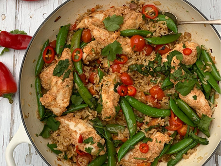 Tandoori Chicken Stir-fry