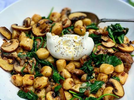 Mushroom, Spinach & Truffle Gnocchi