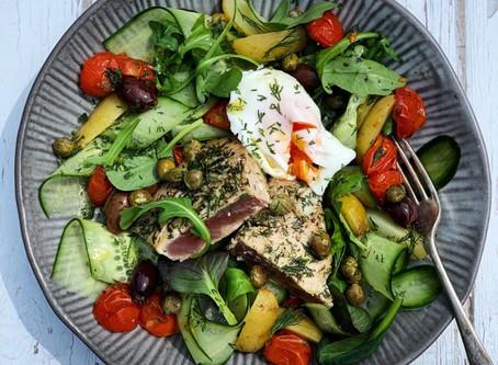 My Tuna Niscoise Salad