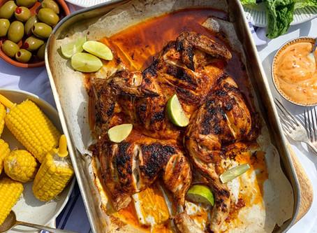 Copycat Nando's Spatchcock Chicken