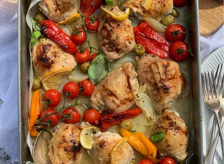 Mediterranean Chicken Traybake