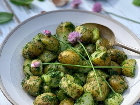 Herby Potato Salad