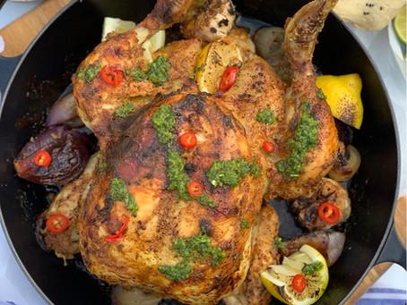 Whole Tandoori Roast Chicken