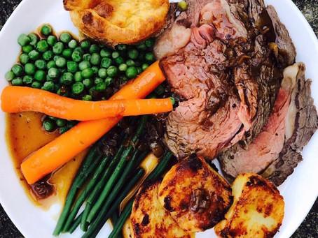 Nana's Legendary Roast Beef, Yorkshire Pudding & Onion Gravy ⠀⠀⠀⠀⠀⠀⠀