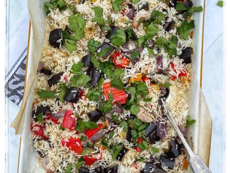 Roasted Vegetable Rice