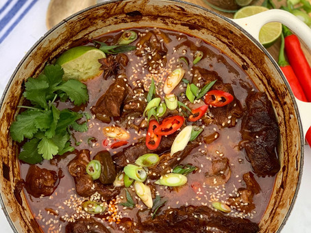 Korean Gochujang Beef Stew
