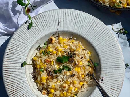 Sweet Corn Risotto